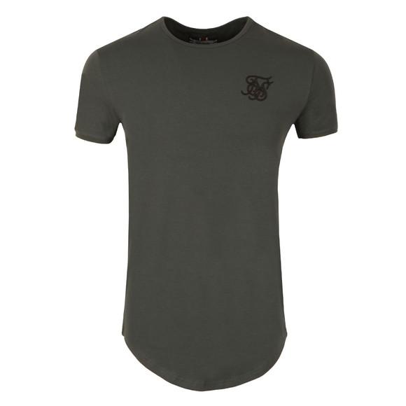 Sik Silk Mens Grey Short Sleeve Gym T Shirt main image