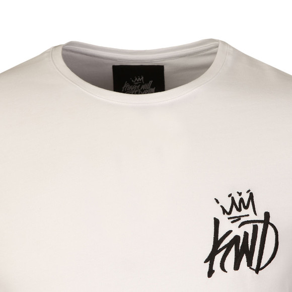 Kings Will Dream Mens White Travis T Shirt main image