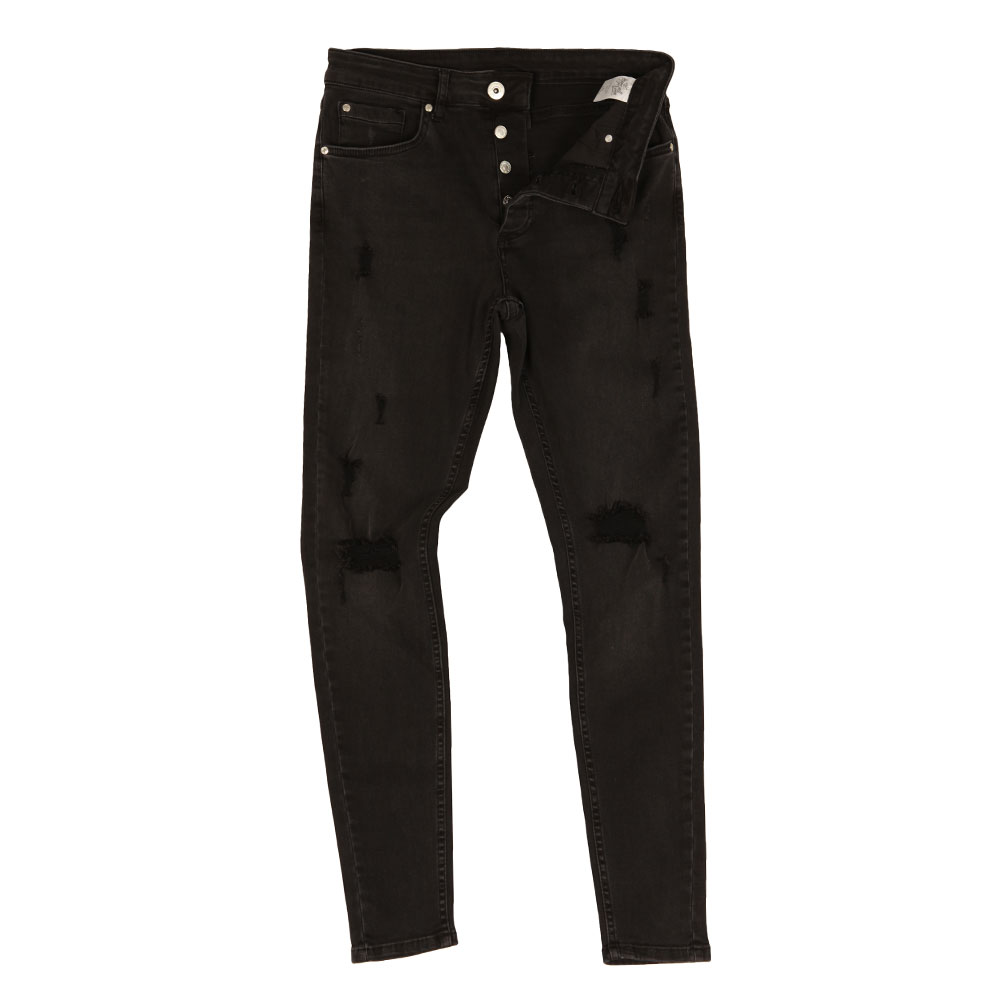Rumper Hipster Ripped Jean main image