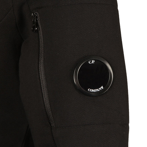 C.P. Company Mens Black Full Zip Sweat main image