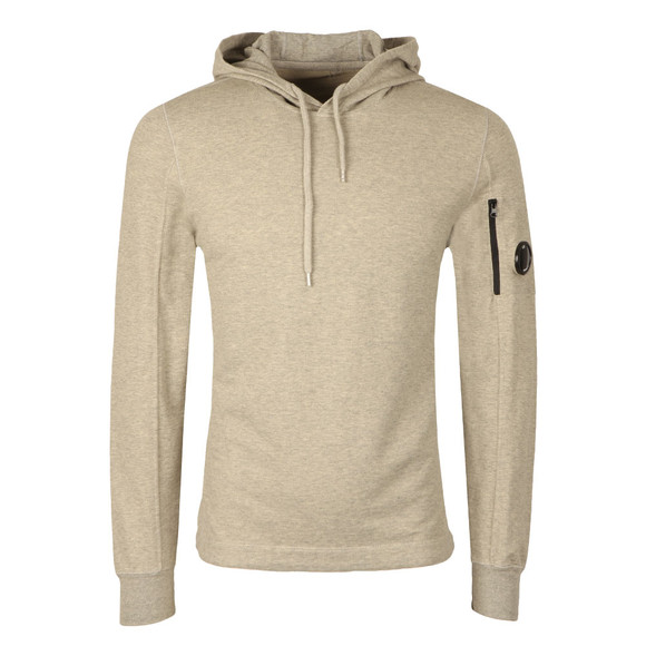 CP Company Mens Grey Viewfinder Sleeve Overhead Hoody main image
