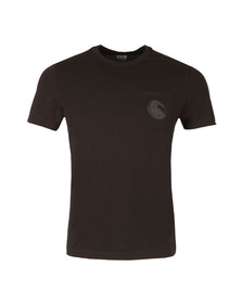 CP Company Mens Black Viewfinder Pocket T Shirt