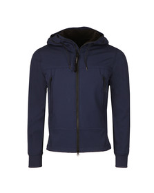 CP Company Mens Blue Soft Shell  Google Jacket