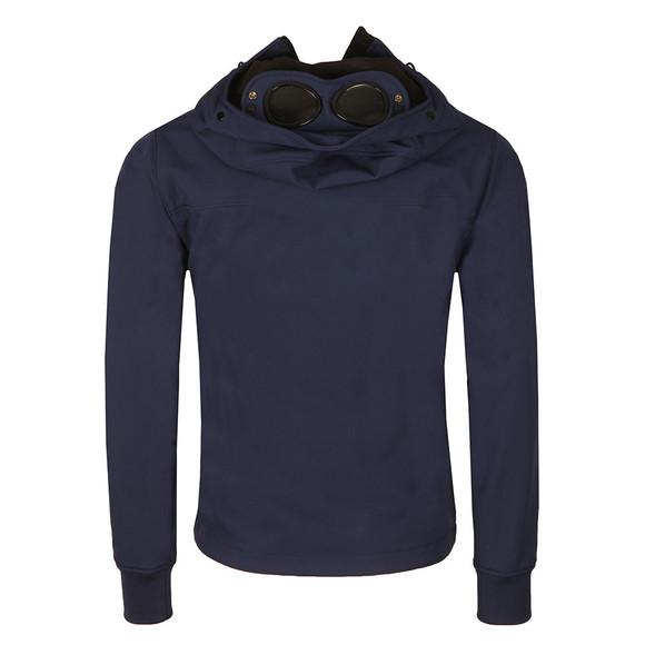 C.P. Company Mens Blue Soft Shell  Goggle Jacket main image