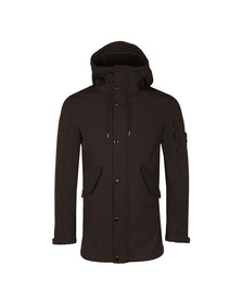 CP Company Mens Black Soft Shell Parka