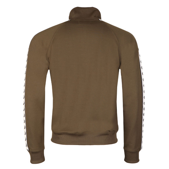 Fred Perry Sportswear Mens Green Laurel Wreath Track Top main image