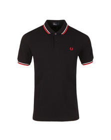 Fred Perry Mens Multicoloured Twin Tipped Polo Shirt