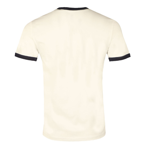 Fred Perry Sportswear Mens White Ringer T-Shirt main image