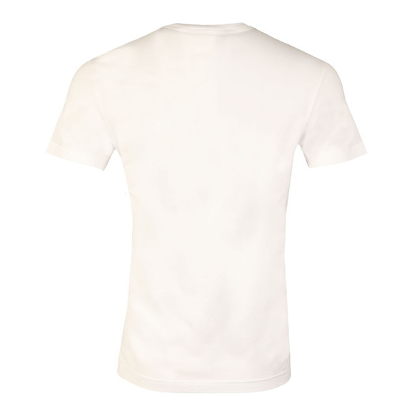 Lacoste Sport Mens White TH7976 Print Tee main image