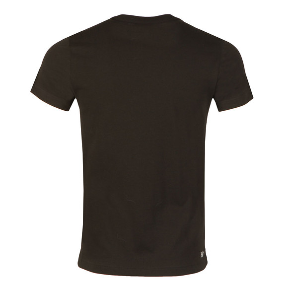 Lacoste Sport Mens Black TH7976 Print Tee main image