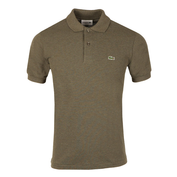 Lacoste Mens Brown L1264 Plain Polo main image