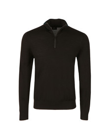 PS Paul Smith Mens Black 1/2 Zip Jumper