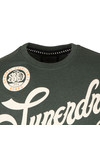 Superdry Mens Green S/S Quality And Detail Tee