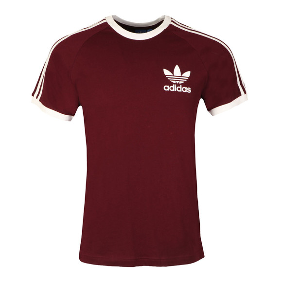 Adidas Originals Mens Red California SS Tee main image