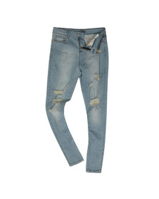 Good For Nothing Mens Blue Ripped Jean