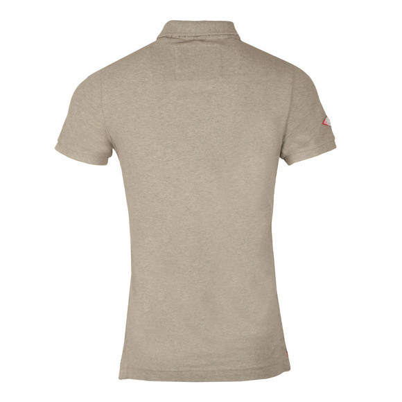 Superdry Mens Grey S/S Classic Pique Polo main image