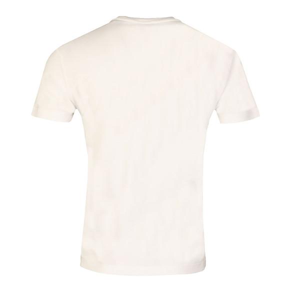 Armani Jeans Mens White 6Y6T23 Logo T Shirt main image
