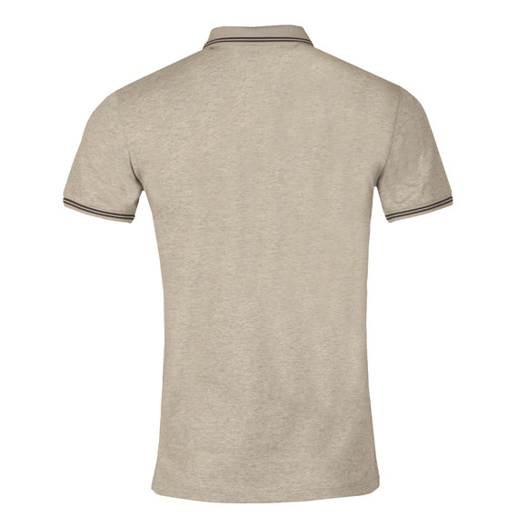 Armani Jeans Mens Grey Tipped Polo Shirt main image