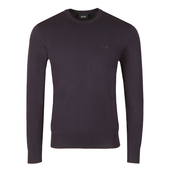 Armani Jeans Mens Blue 8N6MA1 Crew Neck Jumper main image