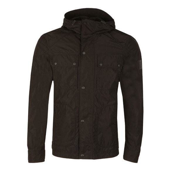 Belstaff Mens Black Ravenswood Hooded Jacket main image