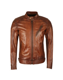 Belstaff Mens Brown Maxford 2.0 Leather Jacket