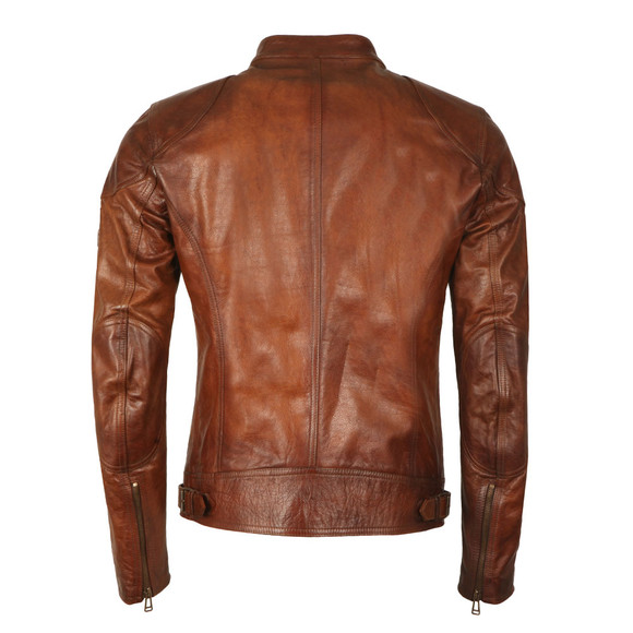 Belstaff Mens Brown Maxford 2.0 Leather Jacket main image