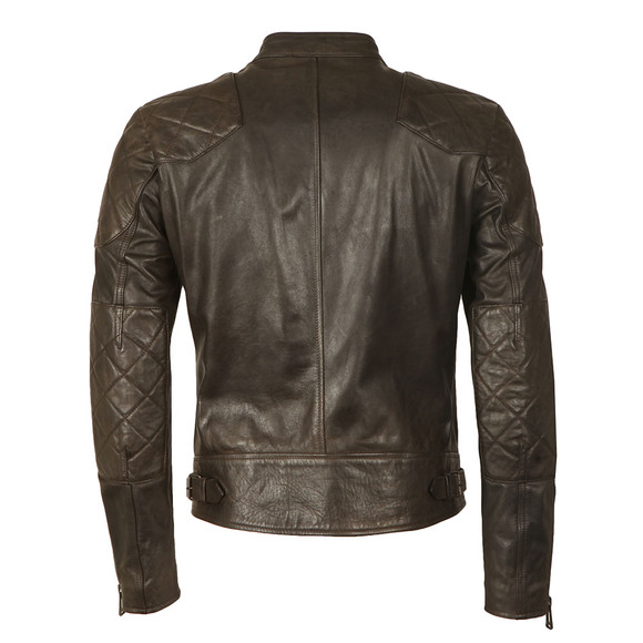 Belstaff Mens Black Outlaw Leather Jacket main image