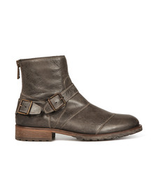 Belstaff Mens Grey Trialmaster Short Boot