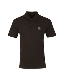 Belstaff Mens Black Stannett Polo Shirt