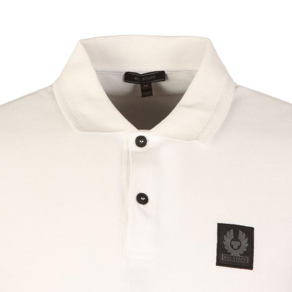Belstaff Mens White Stannett Polo Shirt main image