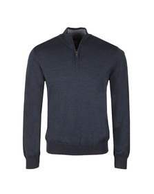 Paul & Shark Mens Blue Half Zip Jumper
