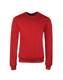 Paul & Shark Mens Red Small Logo Sweatshirt