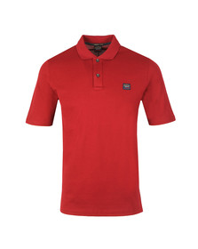 Paul & Shark Mens Red Organic Cotton Polo Shirt