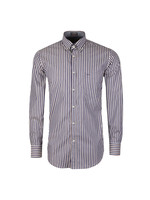 Button Down Triple Stripe Shirt