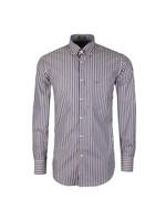 Button Down Triple Stripe Shirt