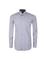 Button Down Gingham Check Shirt