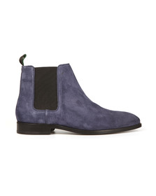 Paul Smith Mens Blue Gerald Suede Chelsea Boot