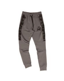 Kings Will Dream Mens Grey Gasper Mesh Sweatpant