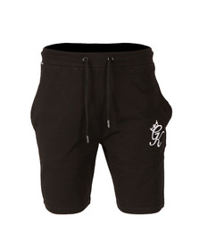 Gym king Mens Black Jersey Shorts