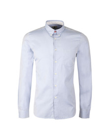 Paul Smith Mens Blue L/S Tailored Shirt