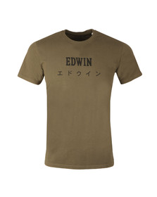 Edwin Mens Green Japan T Shirt