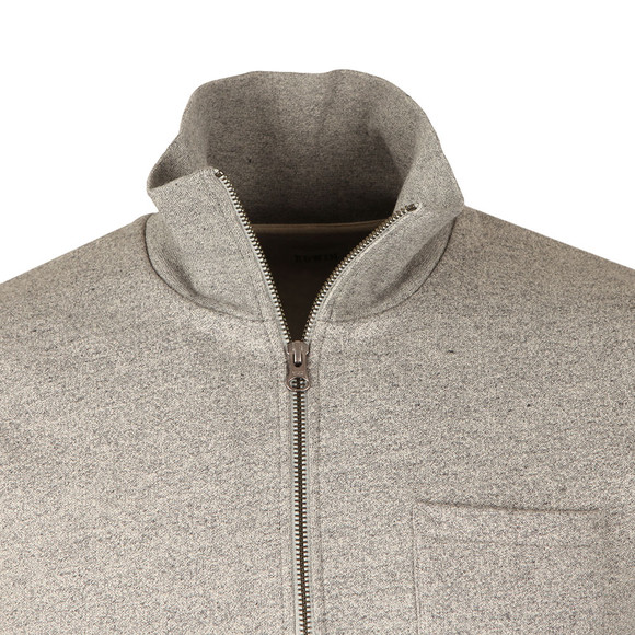 Edwin Mens Grey Warm Up Pop Over Sweat main image