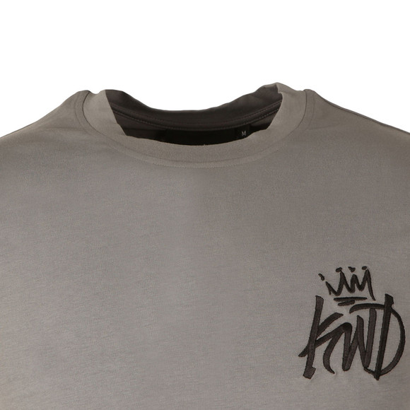 Kings Will Dream Mens Grey Ballmano Back Vertical Logo Tee main image