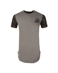 Kings Will Dream Mens Grey Gasper Mesh Tee
