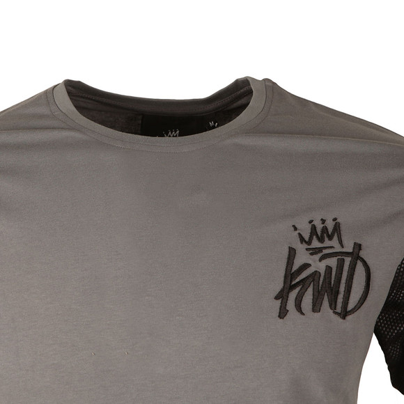 Kings Will Dream Mens Grey Gasper Mesh Tee main image
