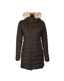 Belstaff Womens Black Melcombe Down Fur Parka