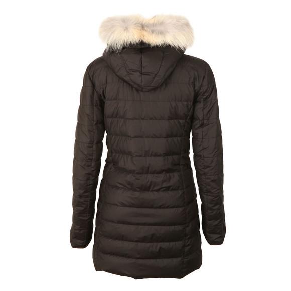 Belstaff Womens Black Melcombe Down Fur Parka main image