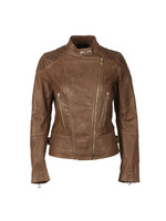 Glyde Leather Blouson
