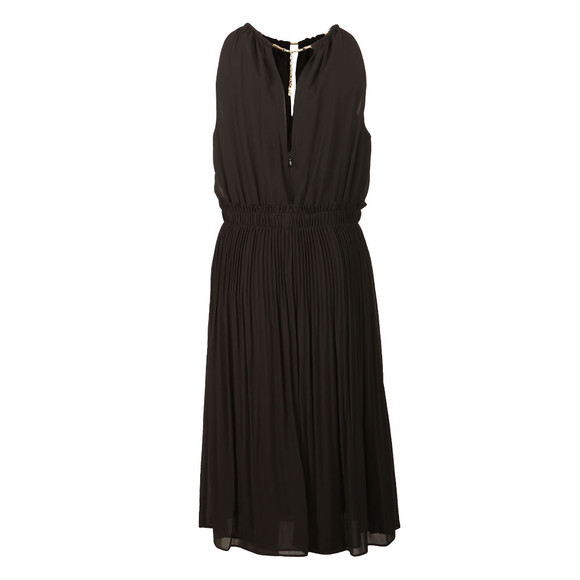 Michael Kors Womens Black Chain Neck Dress main image
