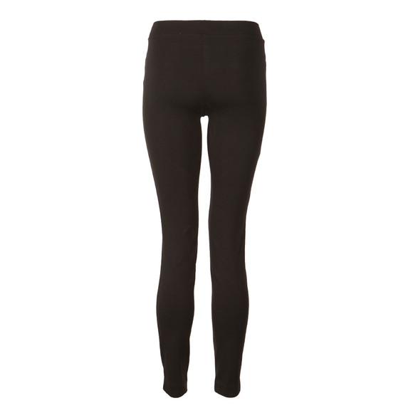 Michael Kors Womens Black Sleek Zip Ponte Pant
